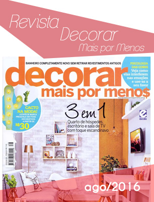 Revista Decorara Mais Por Menos ago2016