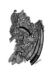Poster Cenas Urbanas 02 by Milton Toledo
