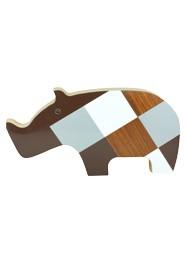 Artigo Decorativo Rinoceronte by Patrícia Maranhão