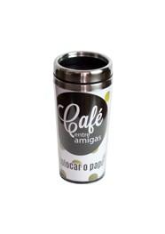Copo Térmico (café entre amigas) - 17x8x8cm (450 ml) - Coleção Mirabile Essential