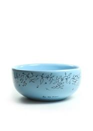 Bowl Cerâmica Azul Flores by Lu De Mari