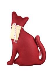 Peso de Porta e Aparador Gato Vermelho P by Paola Abiko