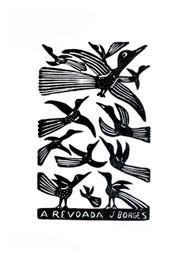 Xilogravura A Revoada by J. Borges