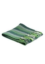 Manta para Sofá em Algodão Verde