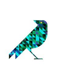 Poster Geométrico Bird by Studio Mirabile