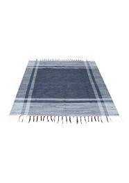 Tapete Azul com Branco Linha Mirabile Essential by Mirabile Decor (1,50 x 1,42)