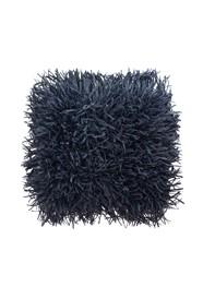 Tapete Cabeludo 45 x 45 cm - Preto - Coleção Mirabile Essential