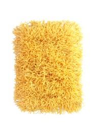 Tapete Cabeludo 60 x 40 cm - Amarelo - Coleção Mirabile Essential