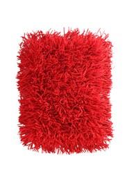 Tapete Cabeludo 60 x 40 cm - Vermelho - Coleção Mirabile Essential