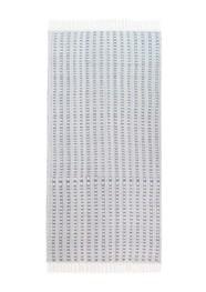 Tapete Tear Manual Liso Cinza M Linha Essential by Mirabile Decor - 150 x 80cm