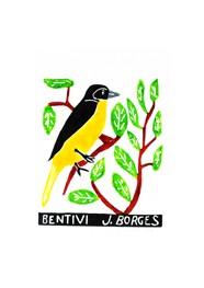 Xilogravura Bem-te-vi by J. Borges (24 cm x 33 cm)