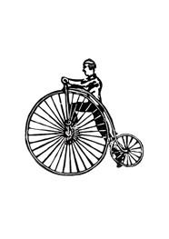 Xilogravura - Bicicleta - by Nei Vital e o Cordel Urbano (40 x 50cm)