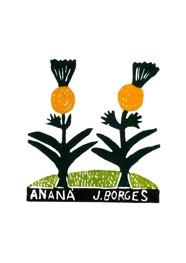 Xilogravura by J. Borges - Ananá (Tamanho 33 x 24 cm)