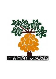 Xilogravura by J. Borges - Mamão (Tamanho 33 x 24 cm)