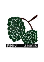 Xilogravura by J. Borges - Pinha (Tamanho 33 x 24 cm)