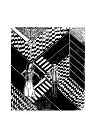 Xilogravura - Rua - by Nei Vital e o Cordel Urbano (40 x 50cm)