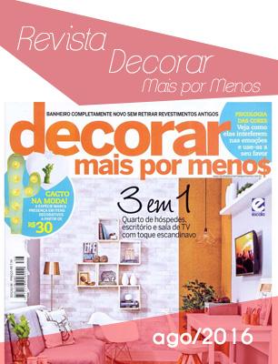 Revista Decorara Mais Por Menos ago2016
